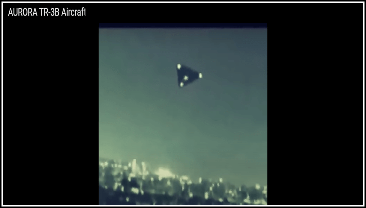 Чёткие кадры TR-3B