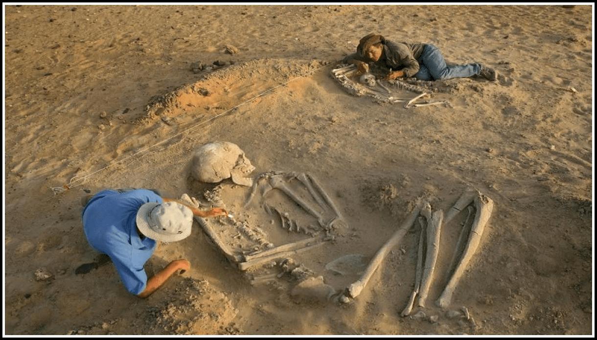 Древние люди гиганты
