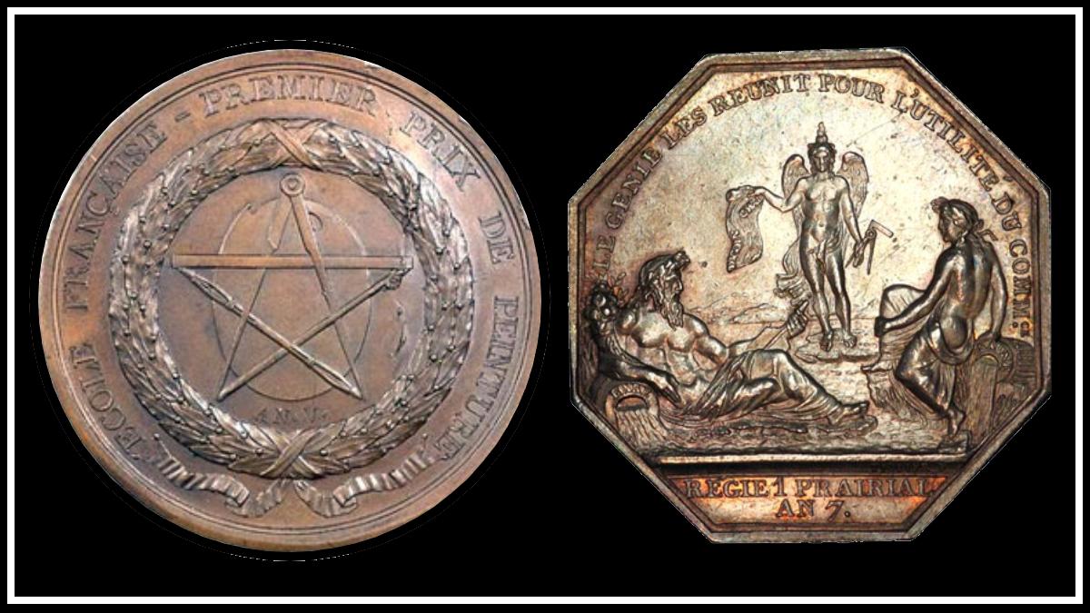 Французская революция масонов и иллюминатов: символы повсюду