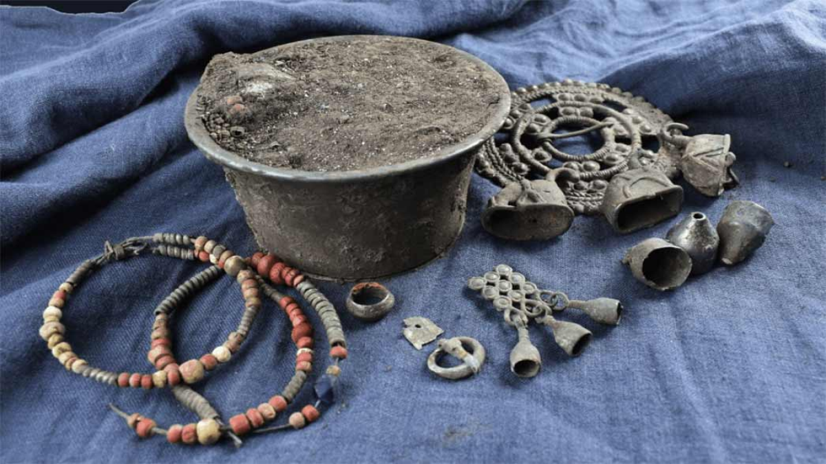 Финно-угорский клад под Суздалем