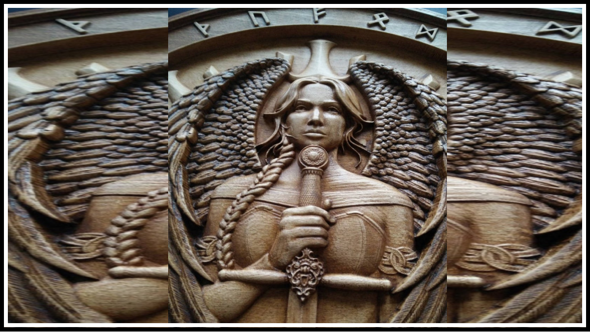 Валькирии, женщины - воины